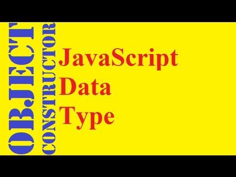 JavaScript Object Constructors