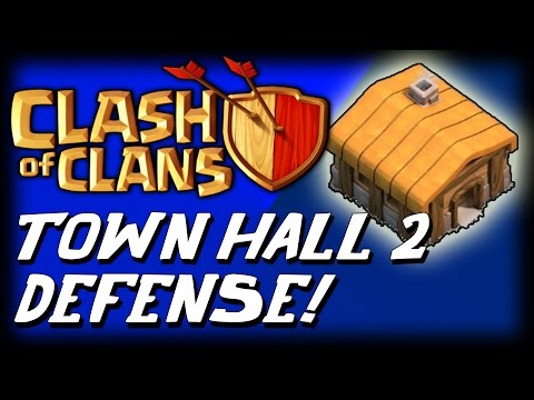 Clash Of Clans - Best Town Hall 2 Hybrid Base (th2) Best Town Hall 2 Farming Base