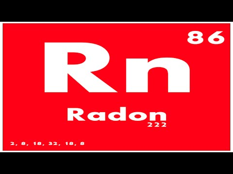 STUDY GUIDE: 86 Radon | Periodic Table of Elements