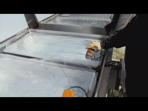 How to make a perfect block of ice