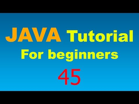 Java Tutorial for Beginners - 45 - GUI - Graphics, Colors, and the Draw method