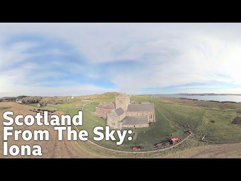 Scotland From The Sky: Iona