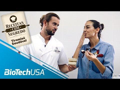 Receitas com segredo por Marco Costa – Tiramisú Saudável - BioTechUSA