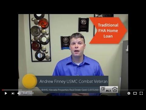 Traditional FHA Home Loan
