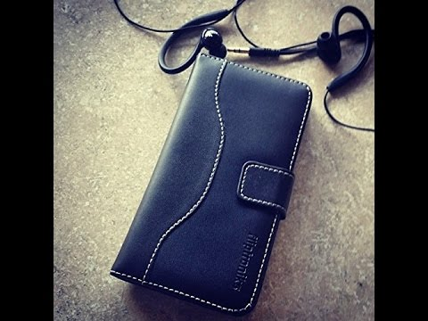 Fliptroniks Black Panther Leather Wallet Case for Iphone 5 & Iphone 5s (High End Genuine Leather)