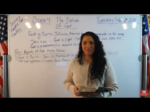 EMOAF S.O.M Back To Basics | Theology Exegesis Two - Course 4: The Nature of God (Theism)