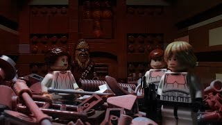 Building the Trash Compactor from Star Wars with Lego (and more!)