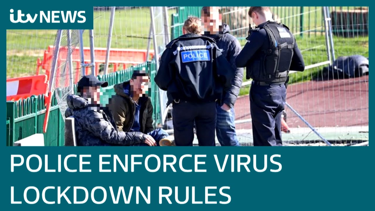 Police enforce UK Government's coronavirus lockdown rules | ITV News