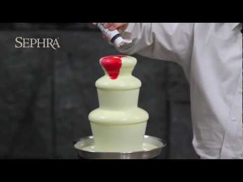 Sephra - How to Add Color to Your Chocolate Fountain