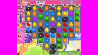 Candy Crush Saga level 2543 with boosters