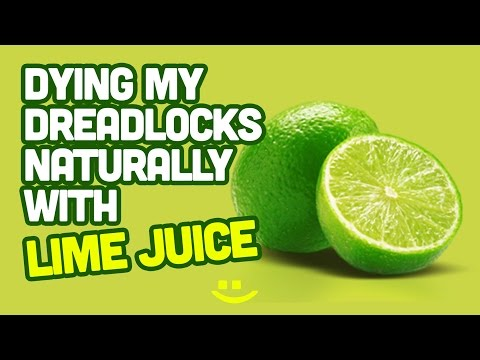 #38 | Naturally Dying My Locs w/ Lime Juice - @cedlocks