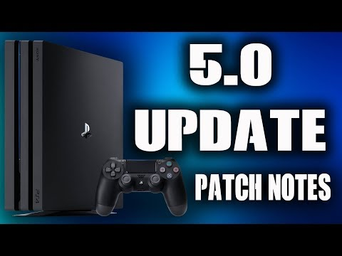 PS4 5.0 System Software Update Patch Notes - PSN NAME CHANGE IS NOT INCLUDED?