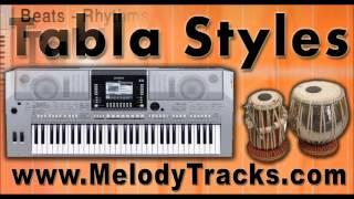 Neele gagan ke tale - Tabla Styles Yamaha PSR S910 S710 S550 S650 S950 A2000 Indian Kit Mix Set 2