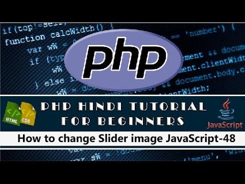 How to change Slider image JavaScript Tutorial-48