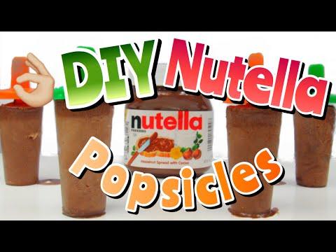 DIY EASY NUTELLA POPSICLES | DIYholic