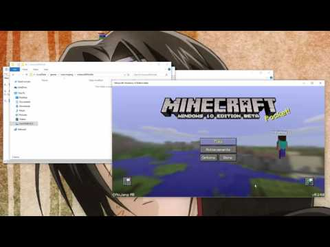 How to Install a Minecraft PE Map/World to Minecraft Windows 10 Edition