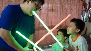 The One Where Daddy Fails To Review The Star Wars Yoda Force FX Lightsaber