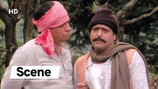 Govinda & Kader Khan Best Comedy Scene from Chhote Sarkar | Shilpa Shetty | Hindi Action Movie