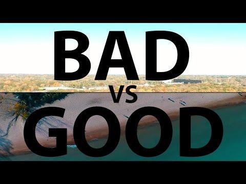 Good v Bad Drone Video Quality