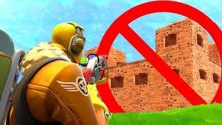 AWESOME Fortnite NO Building Challenge! (Fortnite Battle Royale)