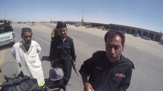 Riding across Baluchistan with the police