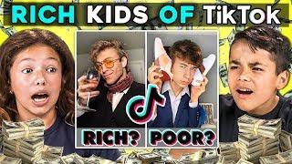 Kids React To Rich Kids Of Tik Tok Compilation (Rich Boy Check)