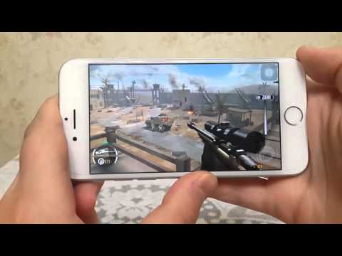 Sniper X with Jason Statham on iPhone 6 GamePlay Review