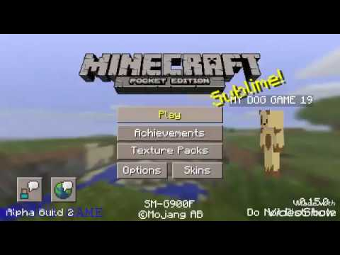 HOW TO MAKE A BOUNCY CASTLE IN MINECRAFT PE BETA