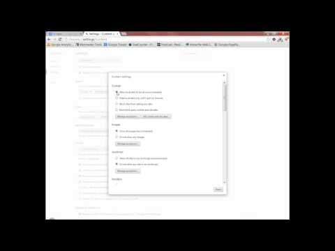 Enabling Cookies on Google Chrome (Rabbit TV)
