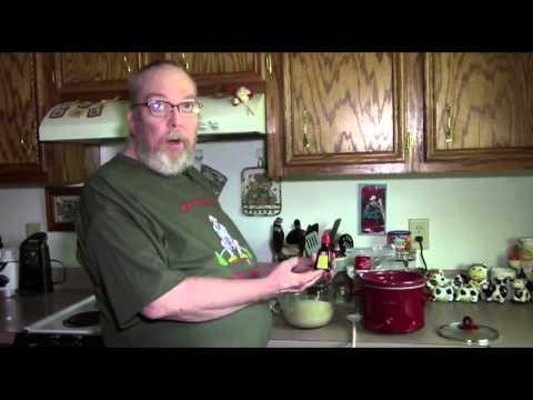 Crockpot Desserts For Real HEALTHY Men: Banana Nut Cake - Healthier Version!