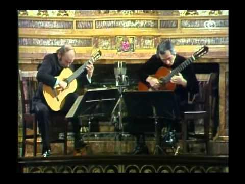 Duo Classical Guitar - Julian Bream & John Williams - Guitar Recital.avi