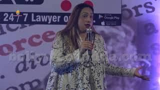 Ranvir Shorey & Vandana Shah At Launch Of Divorcekart App