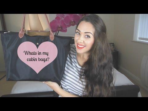 What's In My Cabin Crew Bags? Flight Attendant Essentials | Tasha Parker