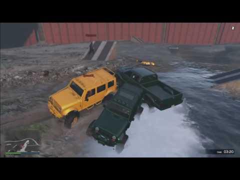 GTA 5 moments, DEMOLITION DERBY !!!