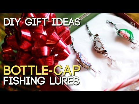 Bottle Cap Fishing Lures | DIY Gifts #2