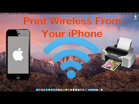 How to Print Wireless from Your iPhone and iPad