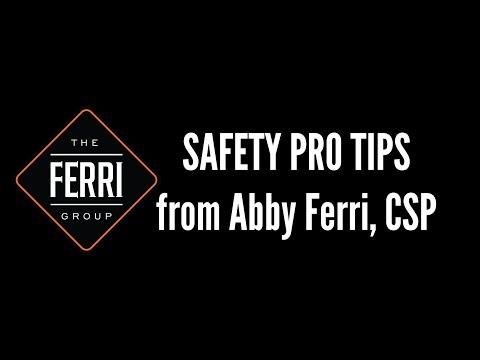 Abby Ferri - OSHA 30 Student Card Tips