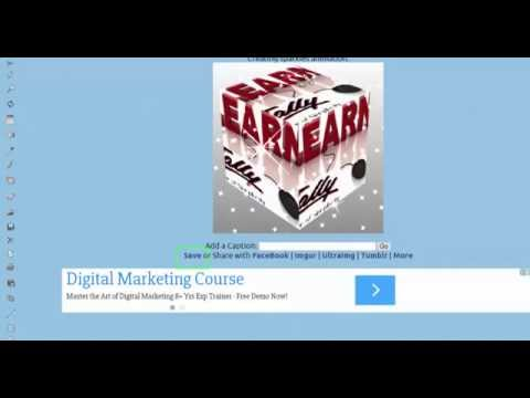How to Create Animated Logo,Profile Pictures, Text online for FREE !! GIF-Telugu
