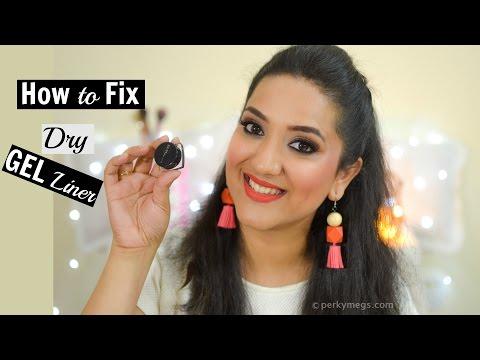 How to Fix Dry Gel Eyeliner | Revive Your Gel Eyeliner | Perkymegs