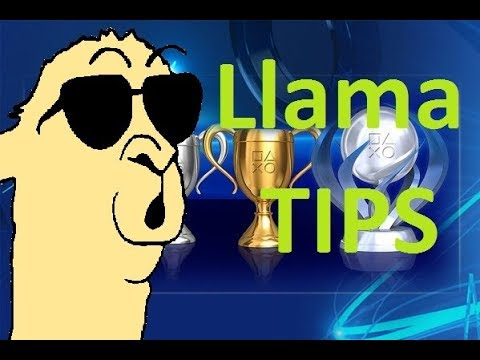 How to change PS4 Trophy Background color (Llama Tips)