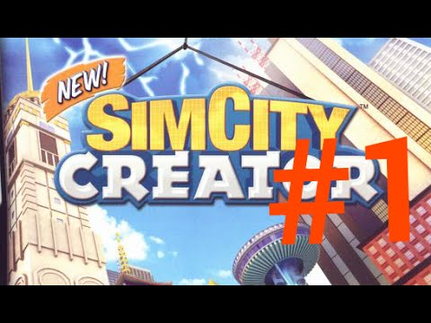 Simcity creator DS Gameplay #1 - new city