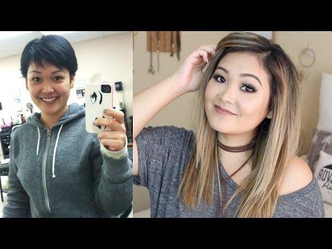 HOW I GREW OUT MY PIXIE HAIR CUT FAST | JaaackJack