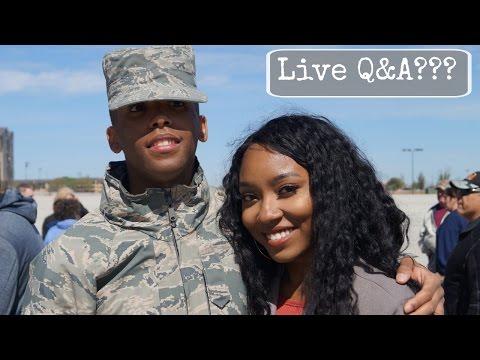 Live Q&A Video w/Josh & Me? | Military, YouTube, Personal, etc....