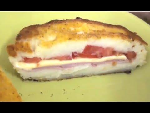 FRIED POTATO BURGER (yummy recipe)  - Greg's Kitchen
