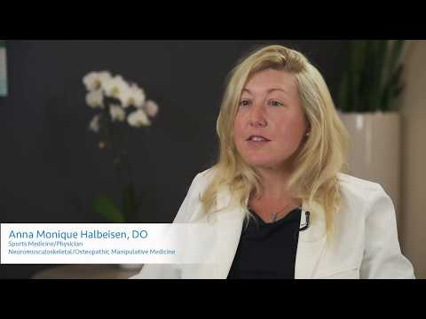 Hands-on care with Dr. Anna Monique Halbeisen