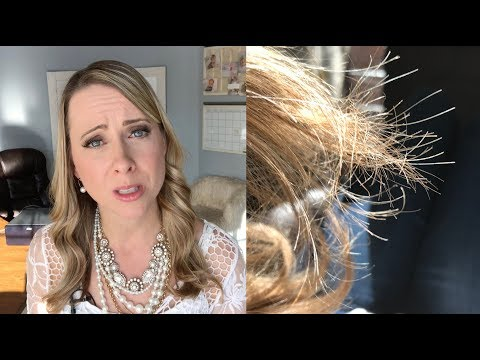 How to Get Rid of Split Ends and Fix Extremely Damaged Hair