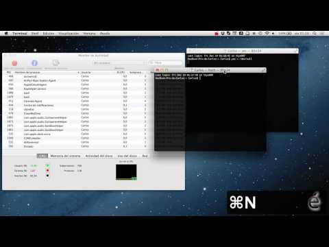 Como poner la CPU al 100% en OS X