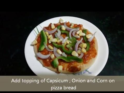Tawa Pizza - Veg Pizza - Pizza on pane