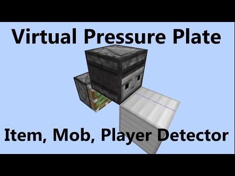 Detector for Item, Player or Mob - Best Virtual Pressure Plate