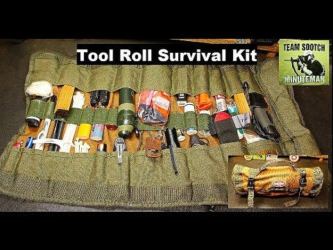Tool Roll Survival Kit